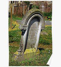 Peartree Church Gravestone Poster
