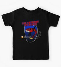 The Crimson Cetacean Kids Tee