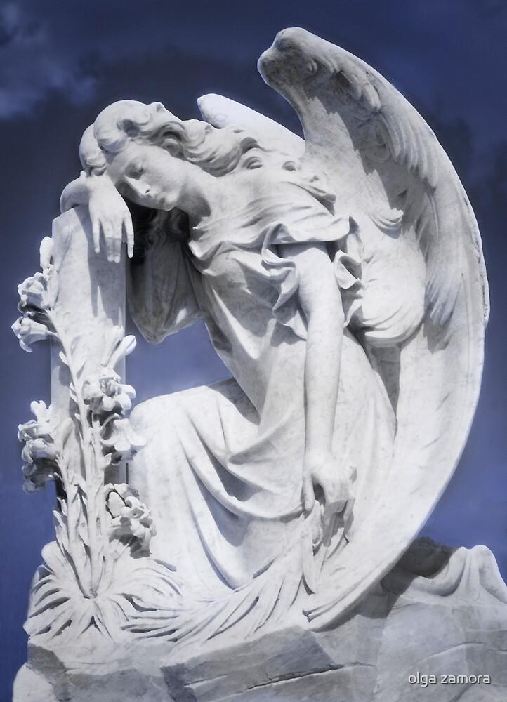 Pensive Angel by olga zamora