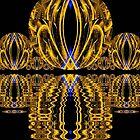 Golden Escher Night Lights  (UF0244) von barrowda