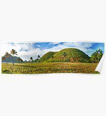 Chocolate Hills Poster