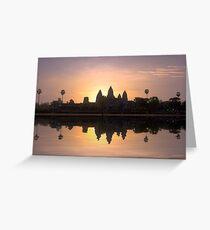 Angkor wat. Greeting Card