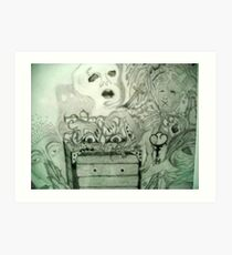 Lámina artística Pandoras Box