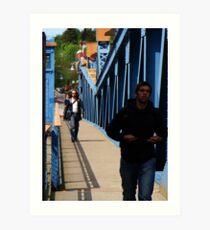 Cross that Bridge Art Print