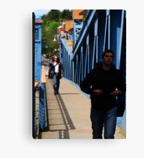 Cross that Bridge Canvas Print