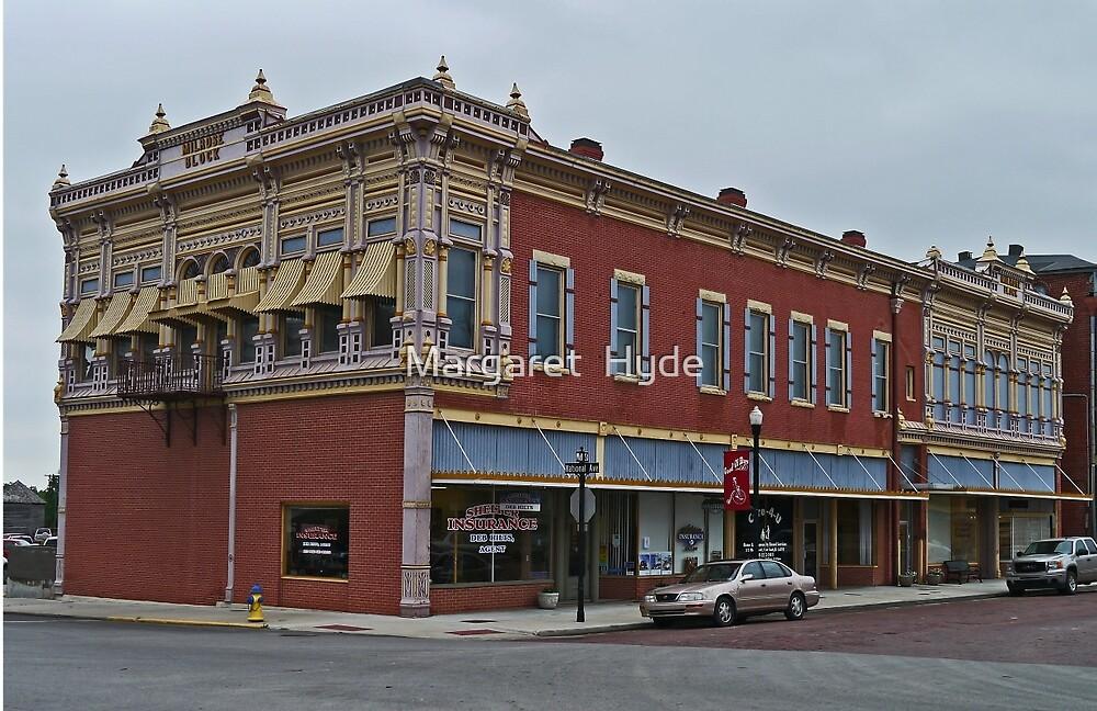 Milrose Block, Fort Scott, Kansas, USA by Margaret  Hyde