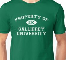 Property of Gallifrey University - 9th Doctor Unisex T-Shirt