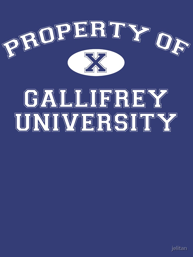 Property of Gallifrey University - 10th Doctor by jelitan