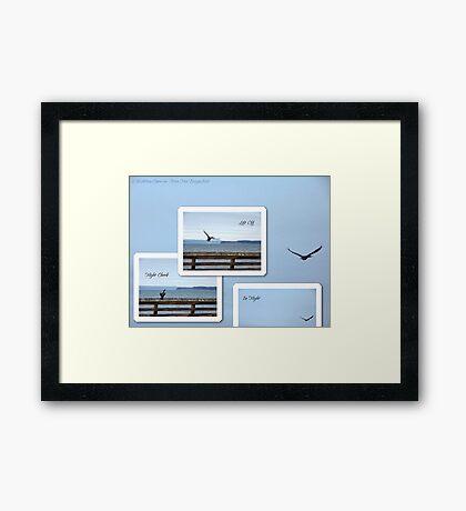 Leaving Seattle Framed Print