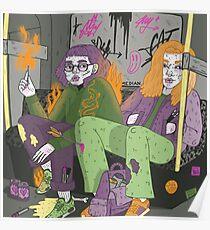 métro tristesse no.1 Poster