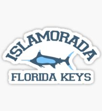 Islamorada - Florida.  Sticker