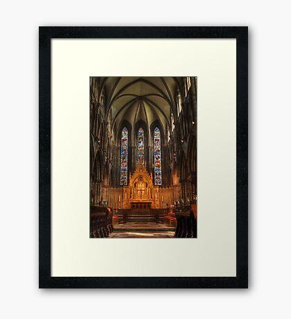 St Marys HDR Framed Print