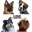 LOVE dogs by Trebor13