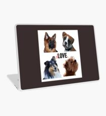 LOVE dogs Laptop Skin