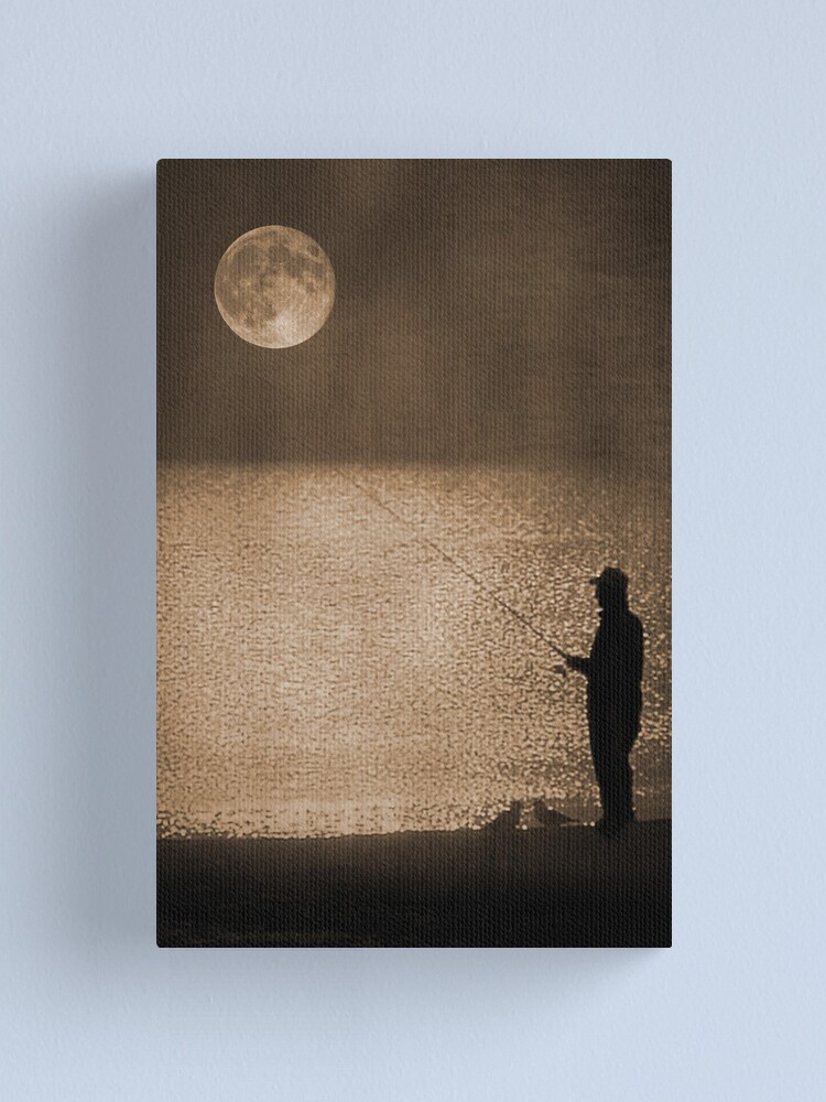 Alternate view of The Fisherman Canvas Print