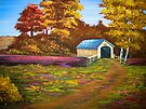 Covered Bridge in Acrylic by teresa731