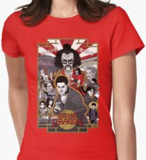 The Last Dragon Glow Poster Shirt Women's Fitted T-Shirt