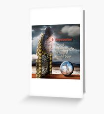 Featured Banner - The Voyage Of Surrealists Group Greeting Card
