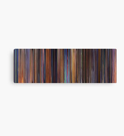 Moviebarcode: Toy Story 2 (1999) Canvas Print