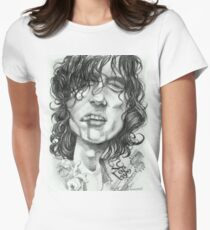 'Page' caricature art by Sheik Women's Fitted T-Shirt