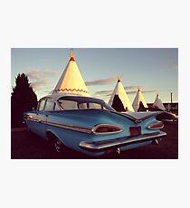 Wigwam Motel Photographic Print