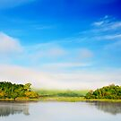 Beautiful tropical lake at morning time by MotHaiBaPhoto Dmitry & Olga