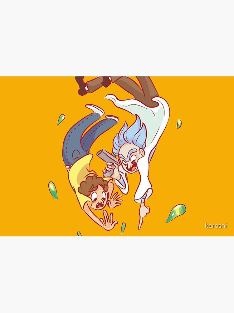 RICK & MORTY by karoshi