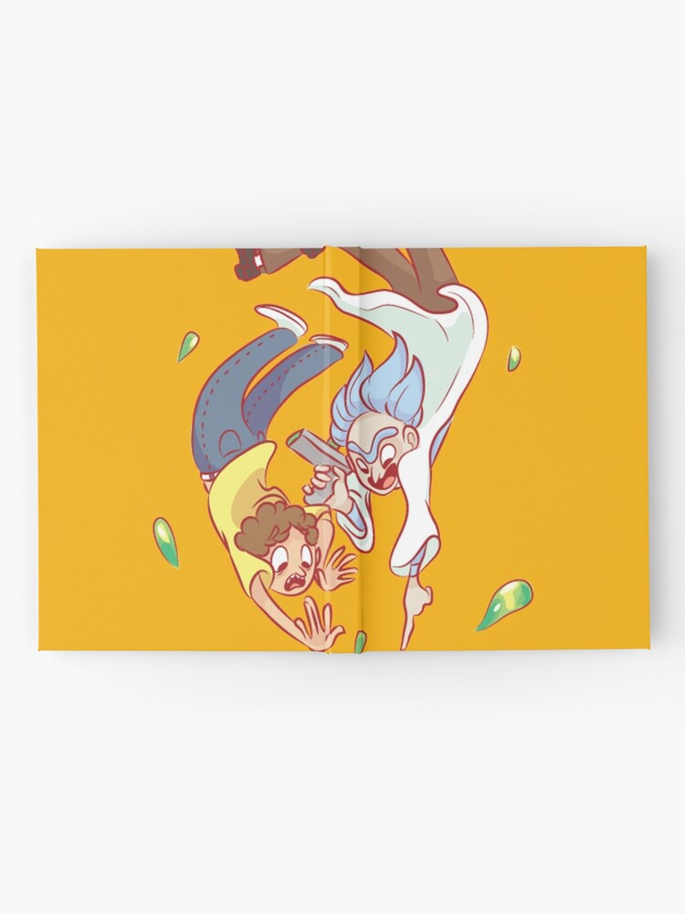 Alternate view of RICK & MORTY Hardcover Journal