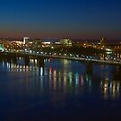 Ottawa River - Ottawa, Ontario, Canada by Josef Pittner