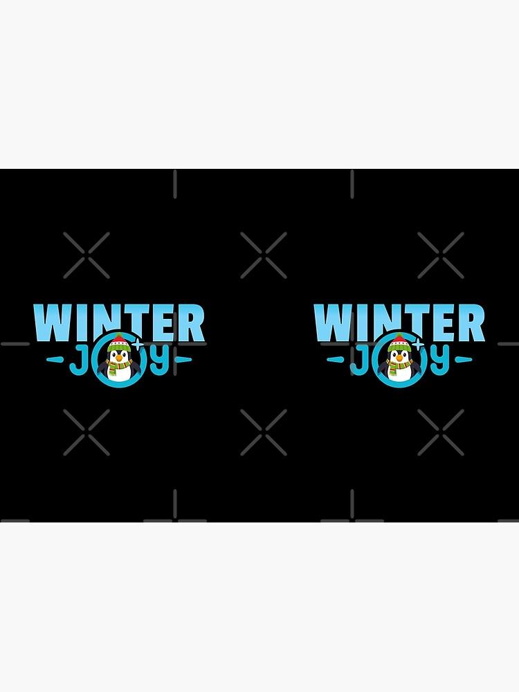Winter Joy Logo Emoji JoyPixels für Weihnachten von el-patron