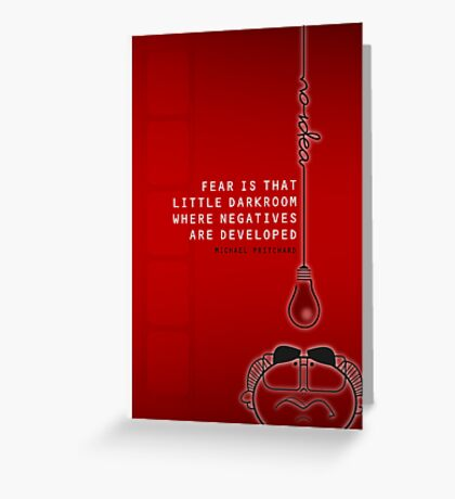 Fear and the conservative Greeting Card