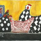 Some Painted Poultry:-) by RobynLee