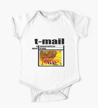 t-mail have a nice day Kids Clothes