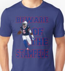 Tyrod Taylor - Beware Of The Stampede T-Shirt