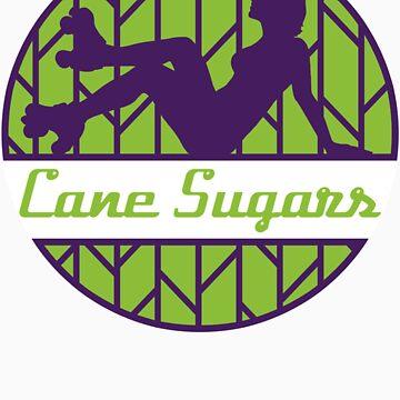 Cane Sugars Sticker by reefcityrg