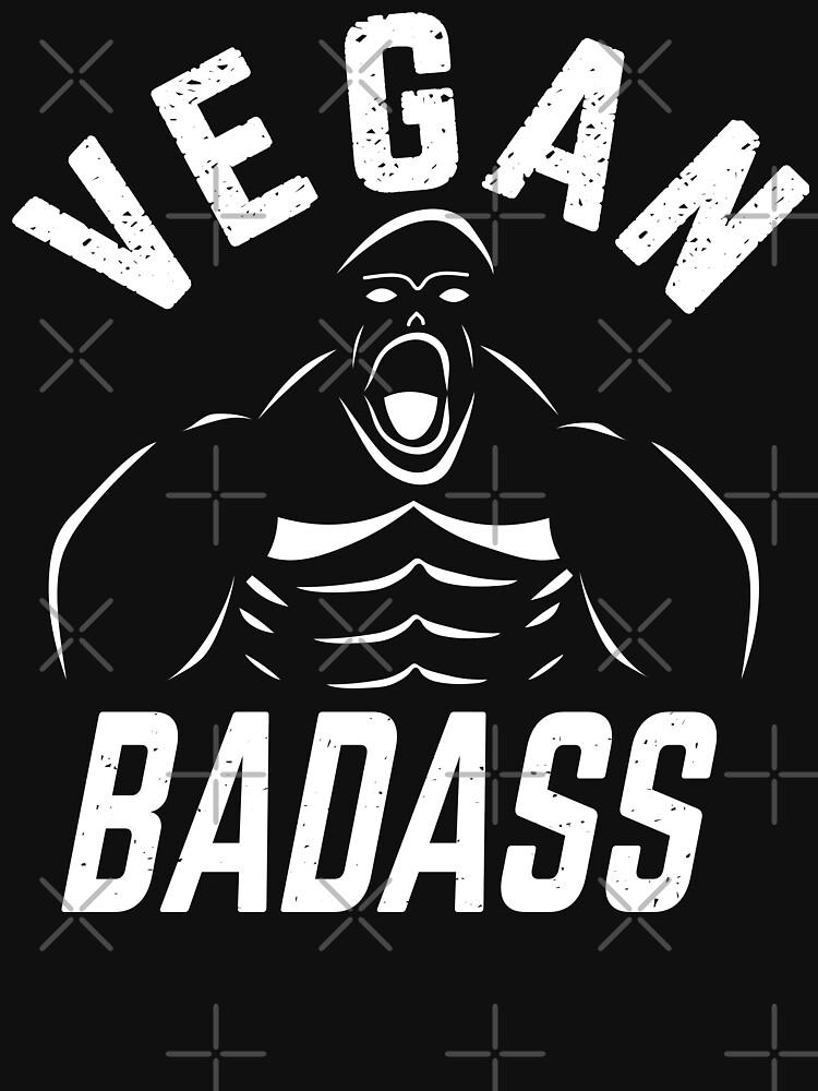 Vegan Badass Gorilla Game Changers by PlantVictorious