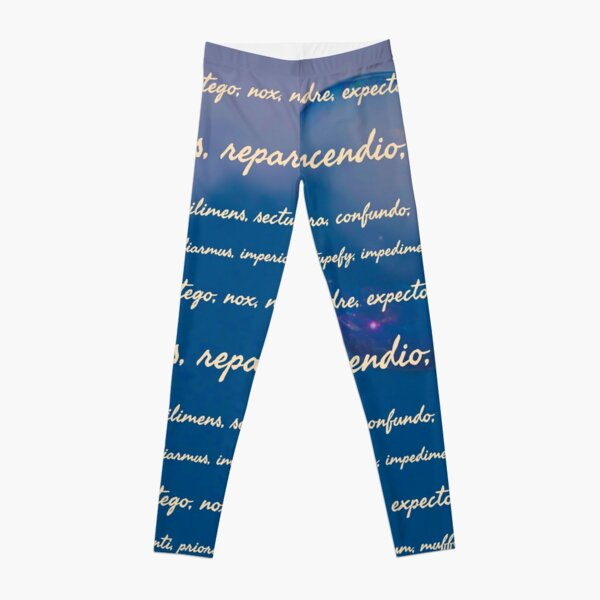 Spells, Charms, Jinx Leggings