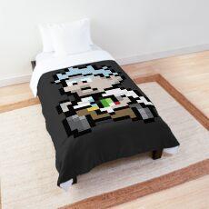 Pixel Rick Too Comforter