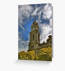 Old Geelong Post Office Greeting Card
