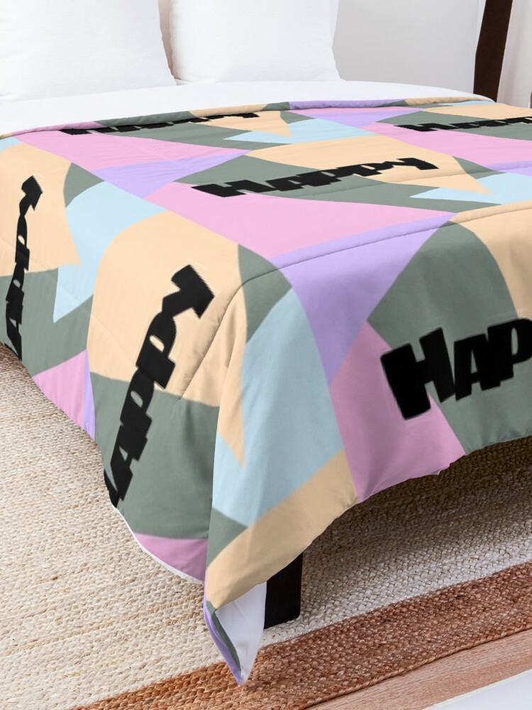 Alternate view of Happy Comforter