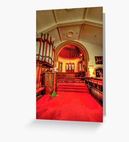 St Chad's Poulton Le Fylde Greeting Card