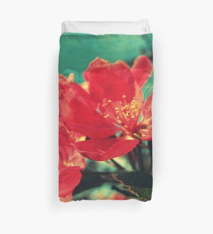 Retro Blossom Duvet Cover