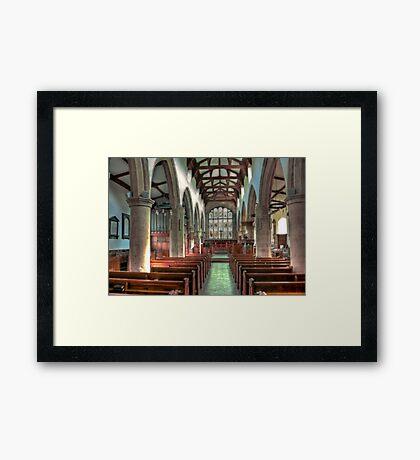 St Andrew Church - Dent,Cumbria Framed Print