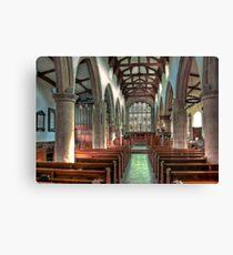 St Andrew Church - Dent,Cumbria Canvas Print