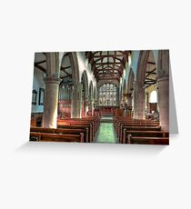 St Andrew Church - Dent,Cumbria Greeting Card
