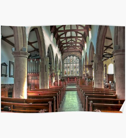 St Andrew Church - Dent,Cumbria Poster