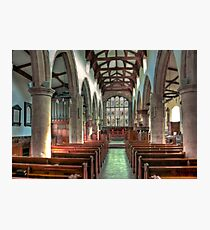 St Andrew Church - Dent,Cumbria Photographic Print