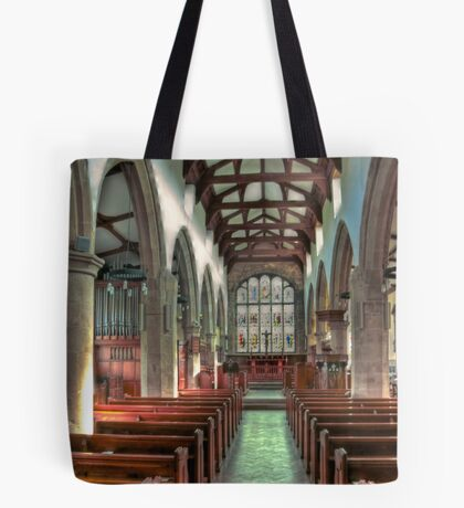 St Andrew Church - Dent,Cumbria Tote Bag