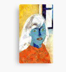 Paper Woman No. 2 Canvas Print