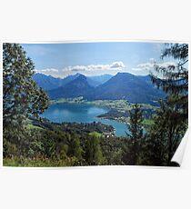 Wolfgangsee Poster